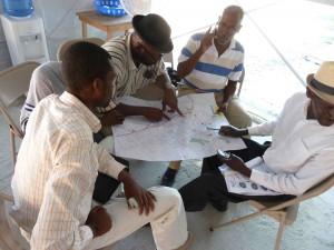 Arbeitsgruppe bei einem Training in Haiti