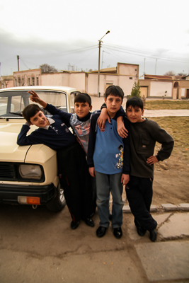 Boys will be boys in Samarkand (2006)