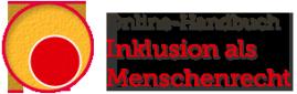 Logo der Internetseite Inklusion ist Menschenrecht