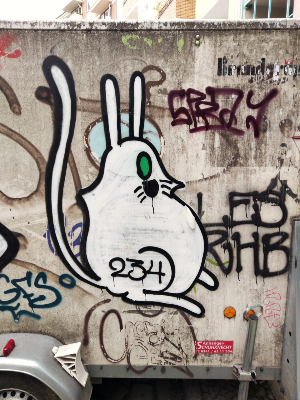 Grafitti in Neukölln