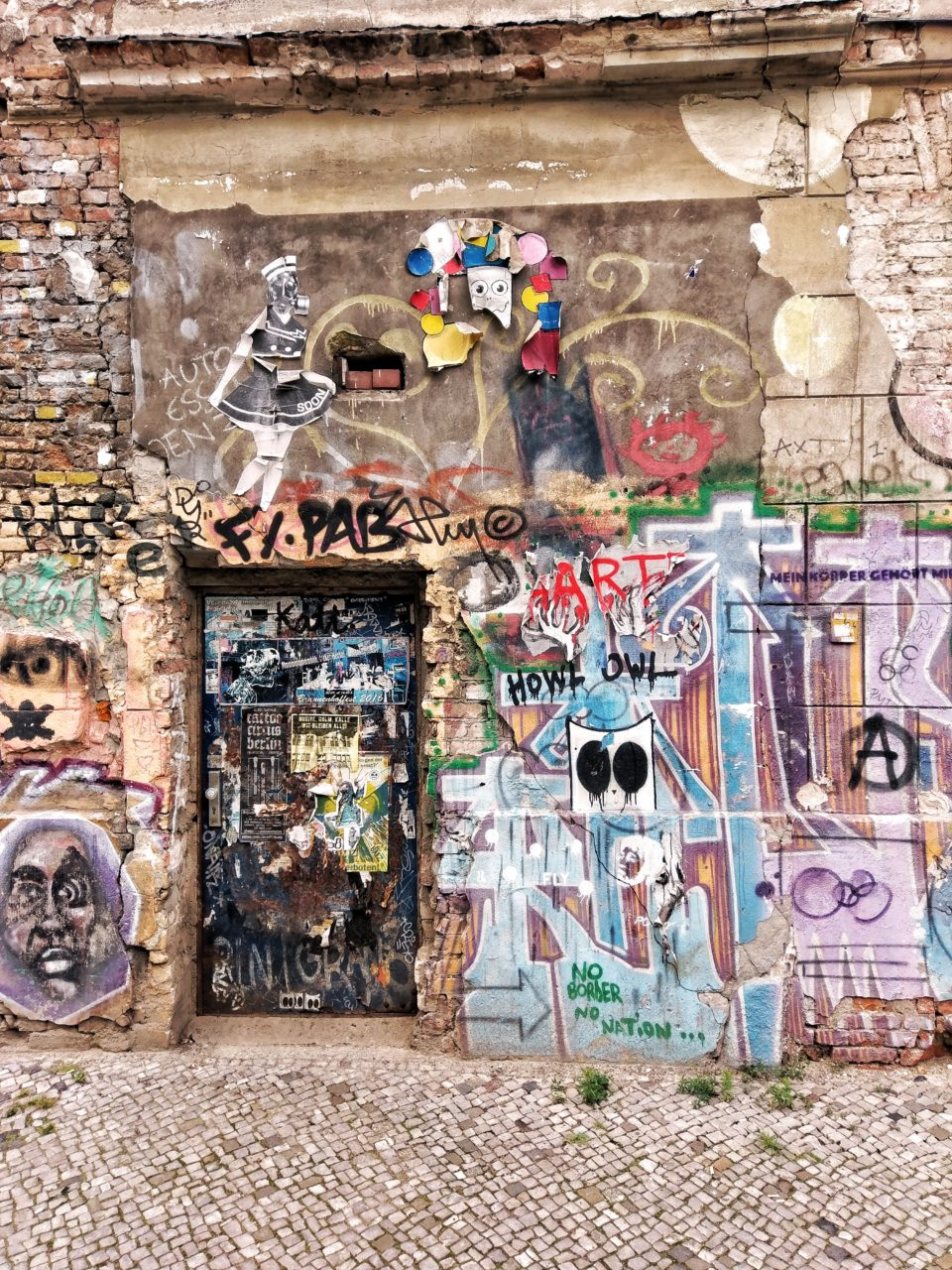 Grafittiwand in Mitte - Berlin